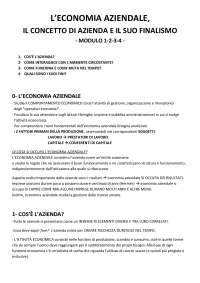 economia aziendale prof Mazzola , Università IULM