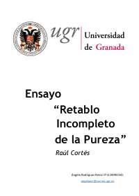 Ensayo de Teoría del Derecho. 2016-2017