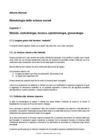 Metodologia delle scienze sociali - Marradi