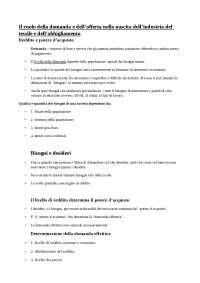 Prime tre lezioni Capalbo - Industria della moda