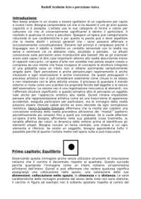 ARNHEIM - arte e percezione visiva