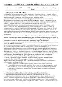 Cultura e sviluppo locale, verso il distretto culturale evoluto - Pier Luigi Sacco (IULM)