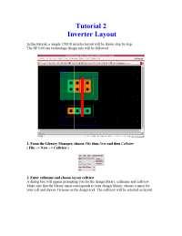 Inverter Design tutorial