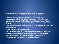 Mijeloproliferativne bolesti