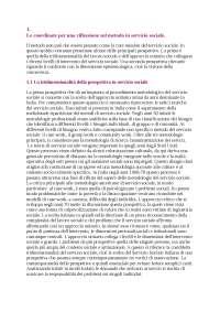Il metodo del servizio sociale- Silvia Fargion