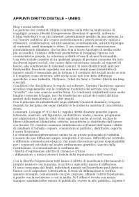 Appunti diritto digitale