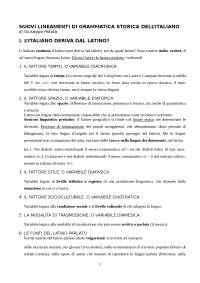 Nuovi lineamenti di grammatica storica - Patota
