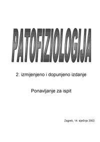 Patofiziologija gamulin medicina