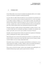 TRABAJO SOBRE UN CASO, Guías, Proyectos, Investigaciones de Antropología Jurídica