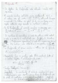 Risoluzione esercizi di Metodi Matematici