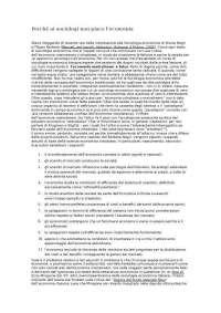 CRITICA LIBRO MERCATI RETI SOCIALI ISTITUZIONI di Filippo Barbera