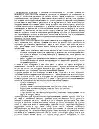 """""""Comunicazione letteraria nell'Italia novecentesca"""" - Prof. Clerici"""