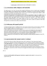 Sistemi di relazione tra stato e chiesa Marco Canonico
