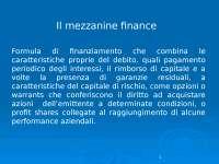 La Mezzanine finance