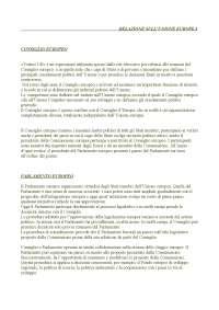 organizzazione politica europea  UNICAL 2016/2017