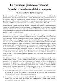 Varano e Barsotti, La tradizione giuridica occidentale