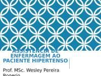 Assistência de Enfermagem ao Paciente Hipertenso