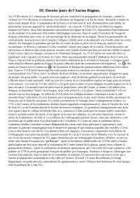 Mille ans de langue française, histoire d'une passion, II. Nouveaux destins. Alain Rey, Frédéric Duval, Gilles Siouffi. ed. Perrin 2016.