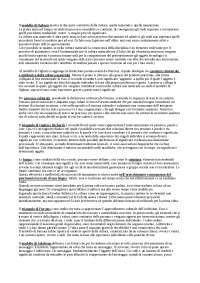 Appunti di sociologia, esame Bonolis (La Sapienza)