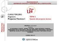 TEMA_5_GESTIÓN DEL PROYECTO TÉCNICO_16-17