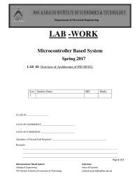 microcontroller based system