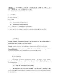 Tema 1 Historia del Derecho
