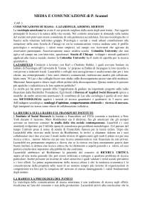 Media e comunicazione (Paddy Scannel)