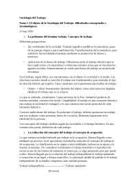 Sociologia del treball Tema 1