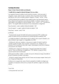 Sociologia del treball Tema 3