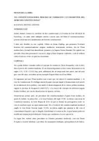 RESUM DEL LLIBRE: EL CONSTITUCIONALISMO de RAFAEL JIMÉNEZ ASENSIO