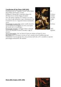 Caravaggio; vita e opere di Caravaggio pt.3