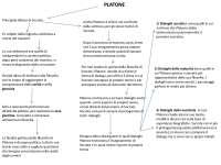 schema su Platone riassuntivo