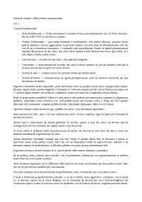 Storia dei trattati e della politica internazionale/storia della politica estera italiana