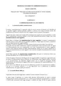Riassunti Diritto Amministrativo - Casetta