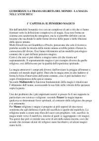 Giulio Guidorizzi - La trama segreta del mondo, la magia nell'antichità