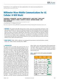 MilimeterWave Wireless communication systems