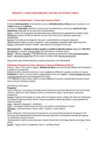 Riassunto per l'esame di storia dell'arte Moderna, basato sullo studio autonomo del testo: Il neoclassicismo nell'arte del settecento (700), A. Pinelli