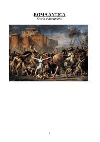 Roma Antica. Storia e documenti