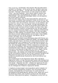 Der Umweltschutz доклад по экологии на немецком языке