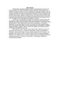 Alfred Nobel сочинение по языковедению на английском языке