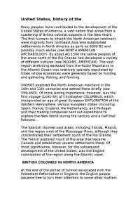 History of the USA доклад по языковедению на английском языке