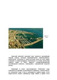 Практика в Одесском порту доклад по таможенной системе