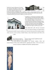 """Some main elements of the and its exhibition """"GIANT SQUID"""" доклад по новому или неперечисленному предмету на английском языке"""