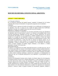 resumen anual de historia constitucional argentina (primer año)