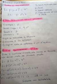 Politica Economica (Prof. Mazzola) Unipa Esercizi con obiettivi Flessibili