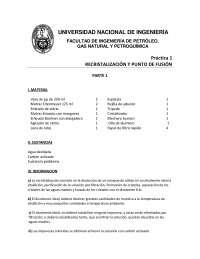 TEMPERATURA DE FUSION