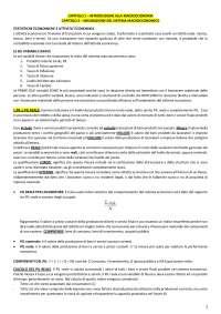 Riassunto da CAP. 1 a CAP. 11, Macroeconomia Capolupo - Integrazione Slide, Libro e Dispense