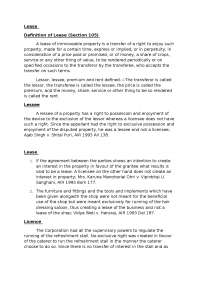 Lease and right sand liabilities