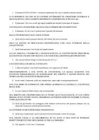 Diritto romano test di autovalutazione 2013/14 domande e risposte esatte 2