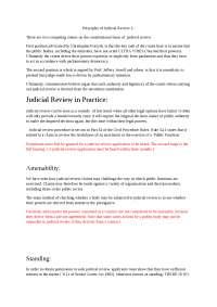 Judicial review, and binding precedent